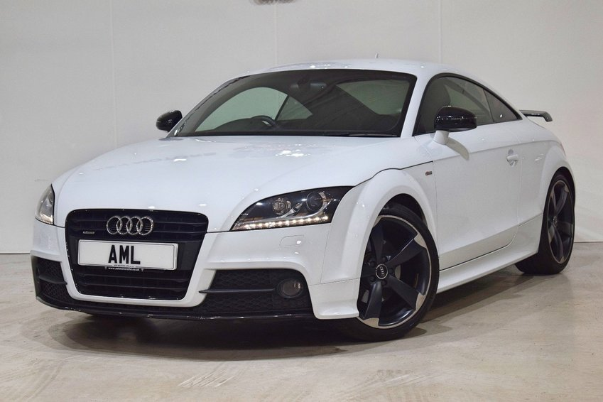 View AUDI TT TDI QUATTRO BLACK EDITION WITH SAT NAV- BOSE- AMPLIFIED PACK