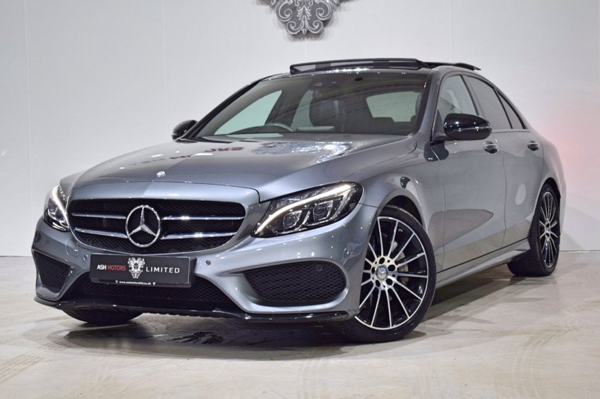 View MERCEDES C CLASS C250 D AMG LINE PREMIUM PLUS - NIGHT PACKAGE- 19in AMG ALLOYS