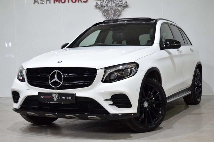 View MERCEDES GLC CLASS GLC250d 4Matic 9G-Tronic AMG Line Premium - Pan Roof- 360 Cameras- FMBSH