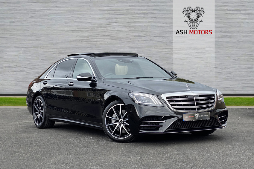 MERCEDES S CLASS S350L BlueTEC 9G-Tronic Plus Auto Start-Stop S350 AMG Line Executive