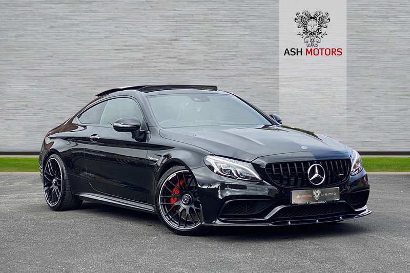 MERCEDES C CLASS C63s AMG V8 BiTurbo Speedshift MCT Premium - Carbon Bodykit- One Owner- 360 Cameras