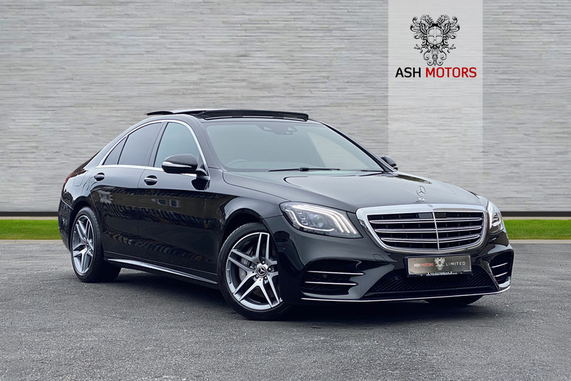 MERCEDES S CLASS S350 AMG Line BlueTEC 9G-Tronic Plus - Panoramic Sunroof