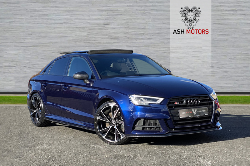 AUDI S3 SALOON S-TRONIC TFSI QUATTRO BLACK EDITION - 19in FORGED ALLOYS - CARBON KIT - PAN ROOF