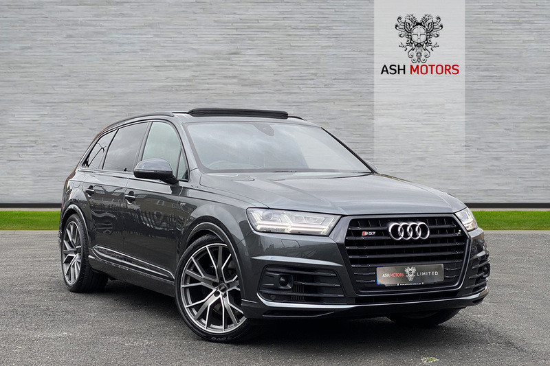 AUDI SQ7 TDI QUATTRO - OVER 20K OPTIONS - DYNAMIC PACK - REAR ENTERTAINMENT