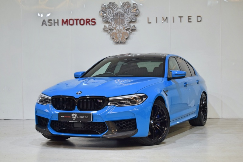 BMW M5 SPECIAL ORDER MEXICO BLUE -  ** SOLD **