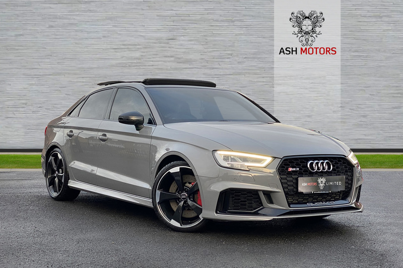 AUDI RS3 TFSI QUATTRO AUDI SPORT EDITION - COMFORT AND SOUND - RS EXHAUST - PAN ROOF