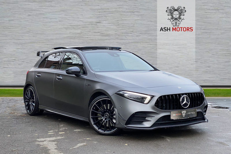MERCEDES A CLASS AMG A 35 4MATIC PREMIUM PLUS - 1 OWNER FINISHED IN MAGNO GREY