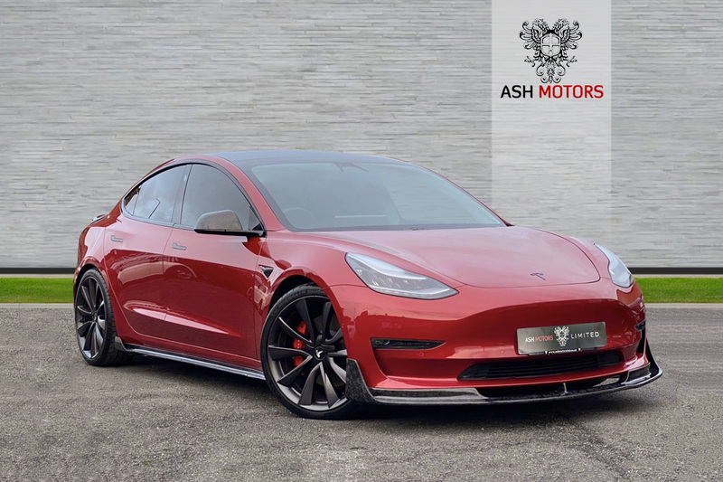 TESLA Model 3 Dual Motor Performance Auto 4WDE 4dr (Performance Upgrade) - FORGED CARBON FIBRE BODY KIT