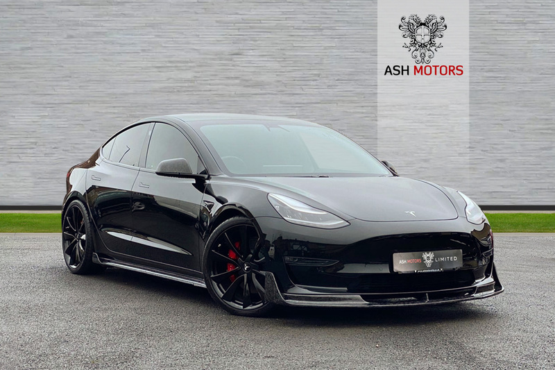 TESLA Model 3 Dual Motor Performance Auto 4WDE 4dr (Performance Upgrade) - FULL SELF DRIVE - FORGED CARBON BODYKIT