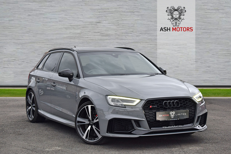 AUDI RS3 TFSI QUATTRO AUDI SPORT EDITION - STAGE 2 + WITH HUGE SPEC - CERAMIC COATED - TRACKER