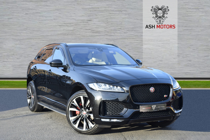 JAGUAR F-PACE V6 FIRST EDITION AWD - PANROOF - SIDE STEPS - FULL JAGUAR HISTORY